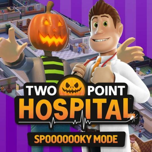 Spooooooky Mode в Two Point Hospital