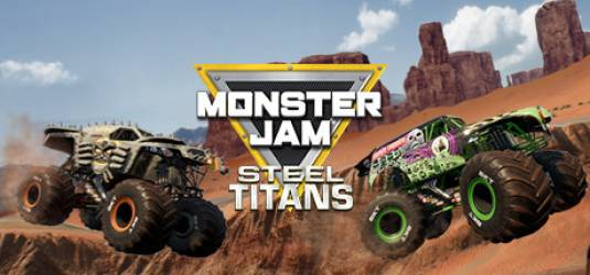 Monster Jam Steel Titans вышел для Nintendo Switch