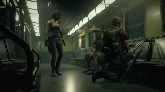 Официальные скриншоты Resident Evil 3: Nemesis