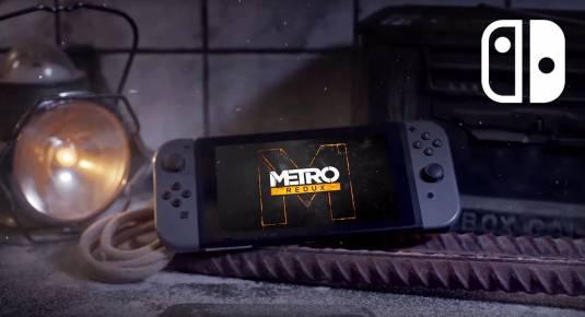 МЕТРО 2033 Возвращение - дата релиза redux-версий Metro на Nintendo Switch
