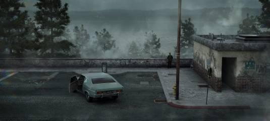 Художник воссоздал культовую сцену из Silent Hill 2