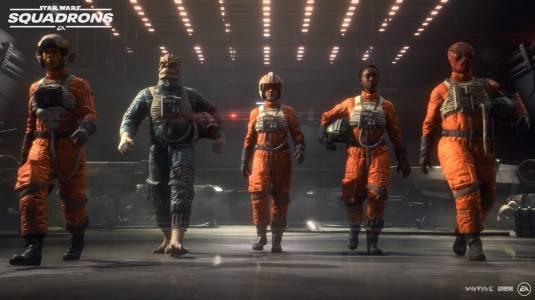 Премьерный трейлер STAR WARS: Squadrons