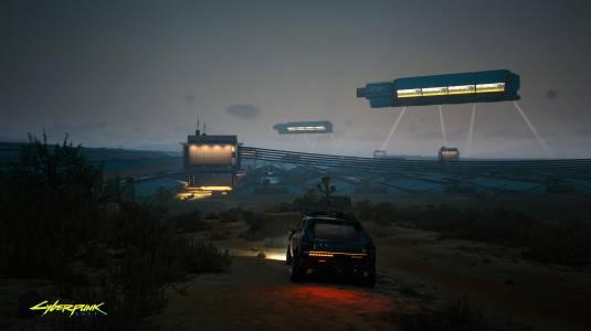 Новый скриншот Cyberpunk 2077 демонстрирует территорию Badlands