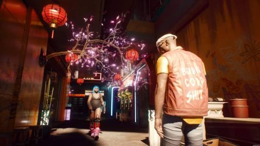 Прекрасный Night City в новых скриншотах Cyberpunk 2077
