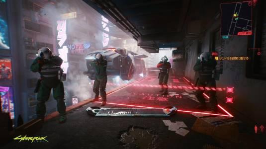 Новые кадры и скриншот игрового процесса Cyberpunk 2077 c TGS 2020