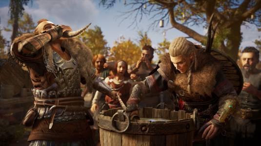 Несколько новых скриншотов Assassin's Creed Valhalla