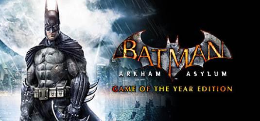 Новый трейлер Batman: Arkham Asylum