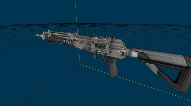 Пак моделей оружия из Crysis 1-2 для Тень Чернобыля. Модификации, моды, па